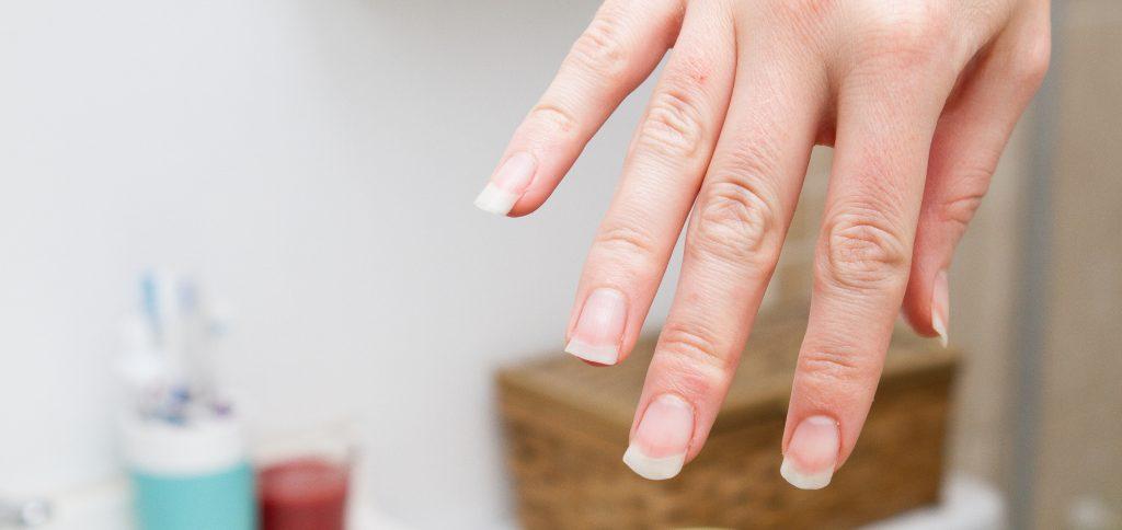 discolouration on your fingernails